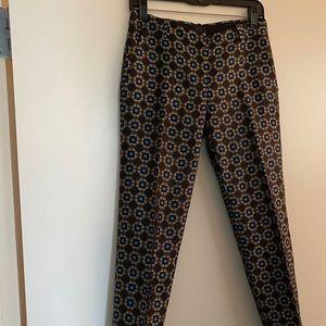 J. Crew Silk Trousers